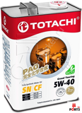 М/масло синтетика TOTACHI Grand Touring Fully SN SAE 5W-40 4л